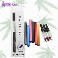 Wholesale E Cigarette Oil Kit - CE3 cartridge BUD touch batteries blister kit vape vaporizer pen cartridges oil vaporizer wax vape thick oil atomizer e cigarette cartridges