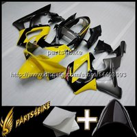 Wholesale Cbr929rr Aftermarket Fairings - 23colors+8Gifts REPSOL yellow CBR929RR 2000-2001 ABS Plastic Bodywork Set Fairing for Honda CBR900RR CBR929 Aftermarket Injection mold