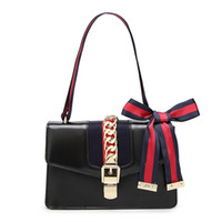 Wholesale Stripe Party Bags - Fashion Shoulder Bag Classic hardware chain hot sell new women bags handbags tote bags messenger bag Wholesale retail Free shipping