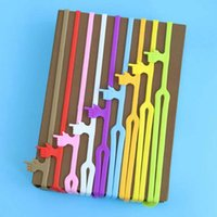 Wholesale 10pcs Hot Sale New Cute Silicone Finger Pointing Bookmark Colorful Book Mark Office Supply Funny Gift Material Escolar Papelaria