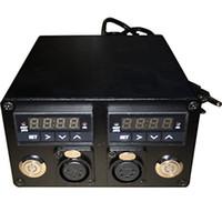 ingrosso regolatore di riscaldamento digitale-110v-280v doppio misuratore digitale della temperatura della pressa di calore Dual PID Controller relè SSR Jack per Rosin Press