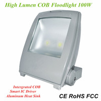 Wholesale Outdoor Waterproof W COB Floodlights High Efficiency LED Flood Lamp AC110V AC220V AC240V W LED Canopy Light IP65