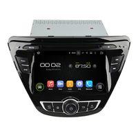 aparelho de som para hyundai elantra venda por atacado-7 polegadas Android HD tela Car DVD player para Hyundai Elantra com GPS, controle de volante, Bluetooth, rádio
