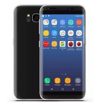 Wholesale Tri Sim Android 3g Smartphone - 5.8inch Real Fingerprint Goophone S8 1G Ram 16G ROM MTK6580 Quad Core 1280*720 Android 6.0 3G WCDMA GPS WIFI Smartphone Touch Id Sealed box