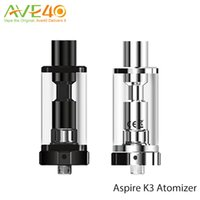 Wholesale Glass Tube Fittings - Aspire K3 Atomizer 2.0ml Capacity Pyrex Glass Tube Tank with 1.8ohm BVC Coil Fits for Aspire K3 Quick Starter Kit 100% Original