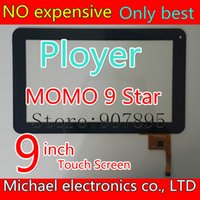 Wholesale Digitizer 9inch Tablet - Wholesale- 300-N3860B-A00-V1.0 N3860B MF-198-090F-2 AD-C-900041 9inch Capacitive touch screen digitizer panel for Perfeo 9103W TABLET PC
