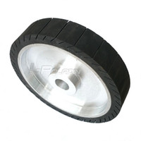 "Wholesale Power Expander - 250*50*25mm Centrifugal Rubber Contact Wheel 10"" Expander Wheel for Sanding belt on Motor Grinder"