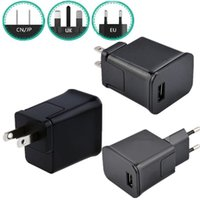 Wholesale samsung galaxy tab online - 2A AC US EU UK Wall Travel Charger Power Adapter Plug For Samsung galaxy Tab Note P1000 P7500 P5200 Usb Cable
