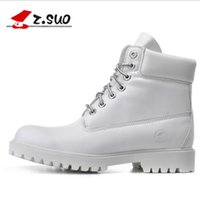 Wholesale B Z - 2018 New Design Cheap Z. Suo women's boots, women boots new fashion retro, cool Casual autumn and winter boots Martin. botas de mujer 10061N
