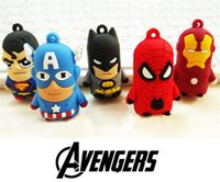 Wholesale Spider Woman Hot - 2017 Hot Style the avengers alliance superhero spider-man 2 batman captain America six 3 d key chain pendant