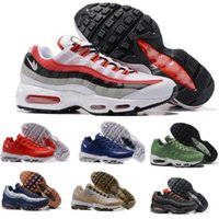 Wholesale New Max Shoe Men Blue Trainer Tennis Maxes Run Running Shoes Man Mens Mid Brand Zapatillas Deportivas Sports Replicas Sneakers Size