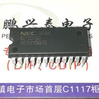 temporizador ic pin al por mayor-D71054C. D71054C-10. UPD71054C, 3 TEMPORIZADOR (S), TEMPORIZADOR PROGRAMABLE IC de circuitos integrados, doble paquete de plástico en línea de 24 pines Chip. PDIP24