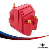 Wholesale Racing Ignition Coils - PQY RACING- Universal Blaster Ss 12V High Output External Male E-Core Ignition Coil PQY-EIC11