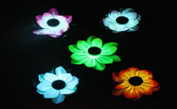 Wholesale Wholesale Fake Fish Tanks - 2pcs lot Artificial Foam Flowers Fake Bouquet for Wedding Party Decoration Fish Tank Floating Water Lily Lotus size 13cm