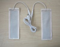 Wholesale Cloth Pill - Wholesale- one pair 5 v USB heating pills heating cloth heating pills 6 * 20 cm