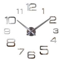 Dropshipping Diy 3d Wall Clock Roman UK Free UK Delivery on Diy