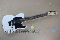 Wholesale Red Maple Standard Electric Guitar - wholesale Free shipping HOT ! High Quality Solid Body F tele Ameican standard telecaster White electric Guitar in stock @2