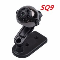 Wholesale vision sounds - Wholesale- Hot Sell SQ9 HD Camera Mini Audio Sound Video Cam Recorder Pocket Night Vision Camcorder for Windows 7 8 HD Camera