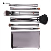 Wholesale hair synthetic pony for sale - Ducare Makeup Brush Luxury Set Pony Hair Goat Hair Super Soft Make Up Tools Kit Make Up Brush Set with Box