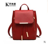 Wholesale School Bags Handbags - 2017 Fashion Women's backpack bag school bag handbags shoulder purse top quality free shipping