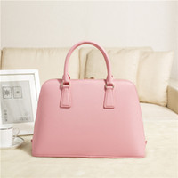 Women black satin bags - Handbag Women Brand genuine leather bag brand designer tote luxury famous fashion shell high grade quality promotional M144