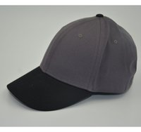 Unisex blank flexfit caps - Flexfit Cotton Twill Baseball Cap Fitted Flex Fit Ballcap Plain Blank Hat customized design is welcome for us