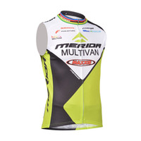 Wholesale Merida Cycling Tops - New Merida cycling Sleeveless jersey summer maillot ropa ciclismo quickdry bicycle shirt tour de France cycling clothing mtb bike vest B1502