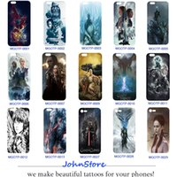 Wholesale Game Phone Cases - Game of Thrones Cartoon Design TPU Phone Case DIY Phone Cover For iPhone 6S 6Plus X 7 8 8Plus 6Plus 7Plus