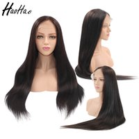 Wholesale Nice Lace Front Wigs - High grade lace frontal Wig full lace human hair nice wig for black women Glueless Customized Free Shipping
