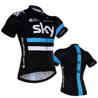 Wholesale team sky jersey yellow for sale - sky team cycling jersey quick  dry polyester shorts f19fd3580