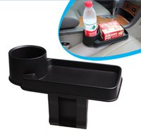 Wholesale 1PCS Car Interior Cup Drink Box Cell Phone Holder Seat Storage Box Organizers Stowing Tidying Multifunction Auto Accessories