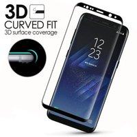 Wholesale Iphone Screens Sale - bulk sale s8 tempered glass 3d curved tempered glass phone screen protector film for iphone 7 6 6s   galaxy s7 s7 edge