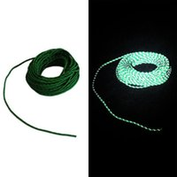 Wholesale Camping Tent Awning - Camp Awning Cord Tent Fluorescent Reflect Line Camp wind Rope Clothes Rope 2.5mm Multifunctional Camping Equipment SPBV0002