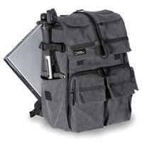 Wholesale National Geographic Camera Shoulder Bag - 2017 New National Geographic Walkabout 5070 double-shoulder DSLR Camera Rucksack Backpack Laptop bag for Canon Nikon Sony Gray