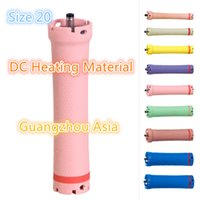 Wholesale Rod Materials - 2017 hot sale salon use hair perm roller, rod, curler, DC material, water-proof, 36V, size 20