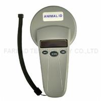 chip do leitor rfid venda por atacado-Atacado- ISO11784 / 5 FDX-B Leitor de chip RFID ID64 Animal ID Scanner portátil para identificação do animal de estimação