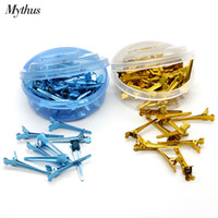 Wholesale Salon Accessories Wholesale - 50 PCS Small Size Hair Clips Salon Hairdressing Hairpins Beauty Hair Accessories Hair Styling Tools Wholesale