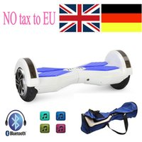 "Wholesale Speakers 8inch - (EU Stock) Electric Scooter Hoverboard With LED Bluetooth Speaker 8inch Smart Electric Scooter Balance Hover Board LED 8"" 6.5"" Scooters"