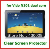 Wholesale Wholesale Vido Tablet - Wholesale- 3pcs LCD Screen Protector Protective Film for Yuandao   Vido N101 Dual Core Tablet No Retail Package Size 251x166mm