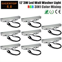 Wholesale light independent for sale - Group buy TIPTOP XLOT IP65 Rating Waterproof RGB Led Wall Washer Light cm Long W High Power Independent mode Master Slave mode DMX