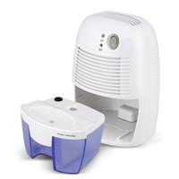 Wholesale Cooler Compressors - US EU Plug Home Air Dehumidifier Semiconductor Desiccant 500ML Moisture Absorbing Car Mini Air Dryer Electric Cooling