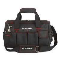 """Wholesale Electrician Kit - Wholesale- WORKPRO 14"""" Brand Tool Bag Professional Electrician Tool Kit Bags 2017 New"""