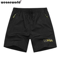 All'ingrosso-WEONEWORLD taglie XL-7XL allentato Mens Shorts causale maschile estate dei bicchierini di stile 2016 Uomo Abbigliamento Bermuda Masculina