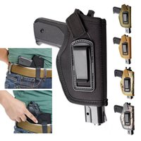 Wholesale Wholesale Glock - Holster Inside The Waistband IWB Concealed Belt Pistol Holster Fits GLOCK 17 22 23 32 33 43 Ruger LC9, LC380 and Similar Size Pistols-H53