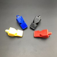 Whistle sport whistles - EDC fox40 Whistle Plastic FOX Soccer Football Basketball Hockey Baseball Sports Classic Referee Whistle Survival Outdoor