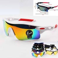 Wholesale multi colour sunglasses resale online - 2017 Summer newest style men cycling SUN glasses colors sunglasses men Bicycle Glass NICE sports sunglasses Dazzle colour glasses