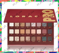 Wholesale Direct Factory Sale - Factory direct sales in 2017 HOT LORAC Limited Edition Holiday Mega PRO Palette Eye Shadow 32 Color Makeup Free shipping