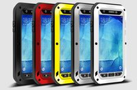 Wholesale Love Mei Powerful - Case For Samsung Galaxy A Series A3100 A3 A5 A7 A8 A9 Love Mei Powerful Aluminum Case Cover Dirt Shockproof Life Waterproof Case