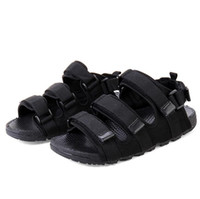 Wholesale Big Size High Heels - Hot Sale New Fashion Summer Leisure Beach Men Shoes High Quality Leather Sandals The Big Yards romance couple Sandals Size 34-44