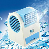 Wholesale Bladeless Fans - HOTTEST Sale Mini USB Fragrance Refrigeration Fan Portable Bladeless Desktop Fan Cooling Air Conditioner with Retail Packaging